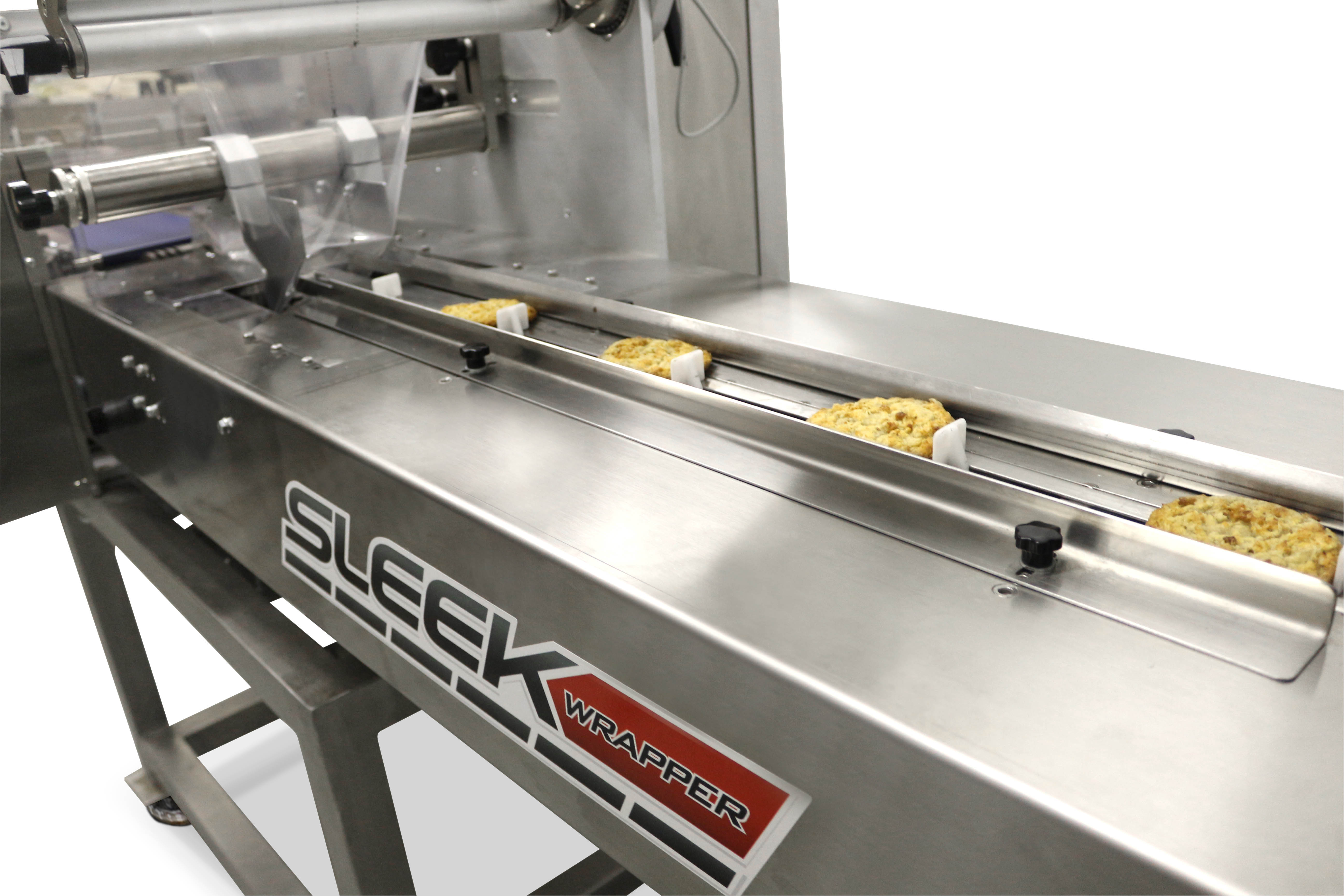 SleekWrapper horizontal flow wrapping machine