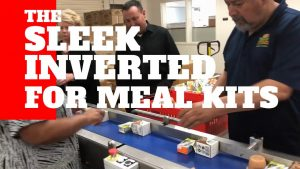 Sleek inverted flow wrapping meal kits video thumbnail