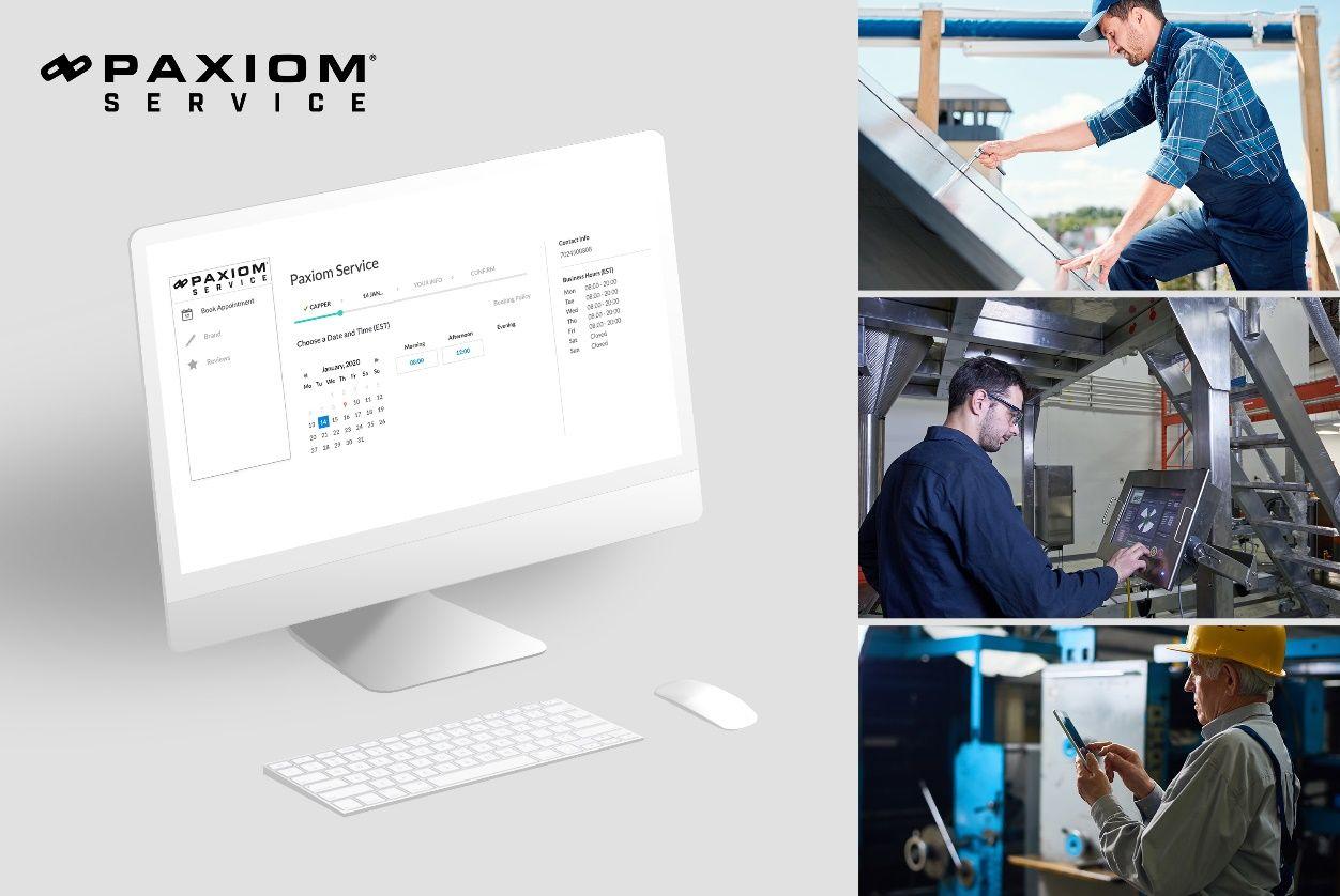Paxiom service center