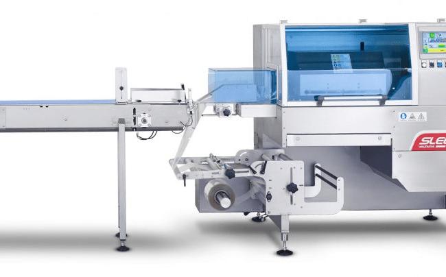 SleekWrapper inverted flow wrapping machine
