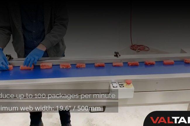 Sleek Inverted i65 Flow Wrapping Fresh Fruits