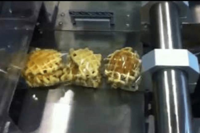 Wrapping Waffle Cookies - SleekWrapper 40