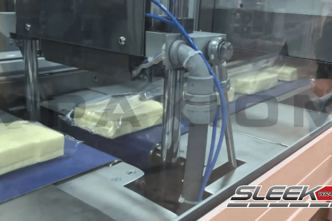 SleekWrapper® Inverted - Flow Wrapping Cheese Blocks