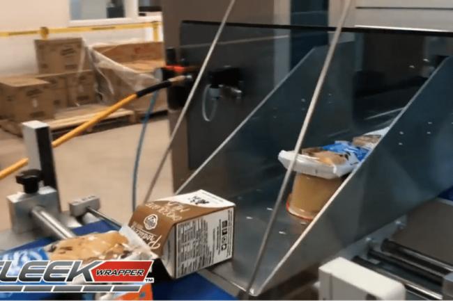 SleekWrapper Inverted for meal kits