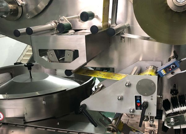 Sleek HSB feeding device installed