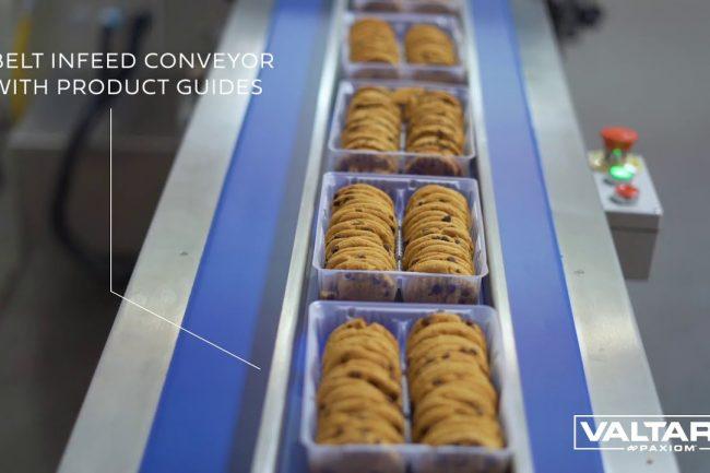 How to flow wrap cookie trays with SleekWrapper i65