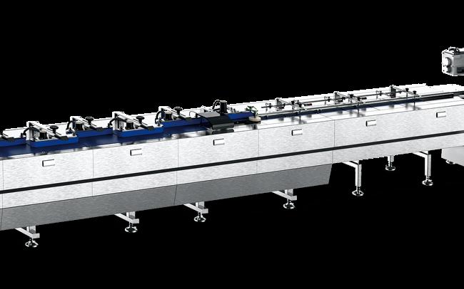 Sleek DTA automated wrapping machine
